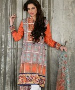 Cross Stitch Lawn Dresses 2014 For Summer 1
