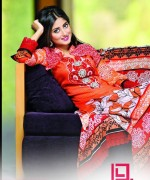 Dawood Textiles Aalishan Chiffon Lawn Dresses 2014 Volume 1 For Women 0011