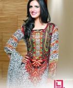 Dawood Textiles Aalishan Chiffon Lawn Dresses 2014 Volume 1 For Women 0012