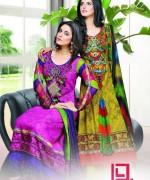 Dawood Textiles Aalishan Chiffon Lawn Dresses 2014 Volume 1 For Women 0015