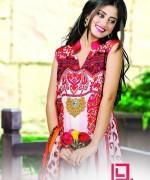 Dawood Textiles Aalishan Chiffon Lawn Dresses 2014 Volume 1 For Women 002