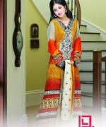 Dawood Textiles Aalishan Chiffon Lawn Dresses 2014 Volume 1 For Women 003