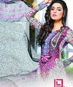 Dawood Textiles Aalishan Chiffon Lawn Dresses 2014 Volume 1 For Women 006
