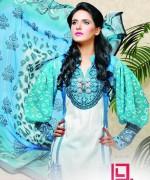 Dawood Textiles Aalishan Chiffon Lawn Dresses 2014 Volume 1 For Women 007