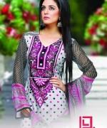 Dawood Textiles Aalishan Chiffon Lawn Dresses 2014 Volume 1 For Women 009
