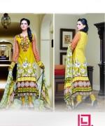 Dawood Textiles Aalishan Chiffon Lawn Dresses 2014 Volume 1 For Women 995