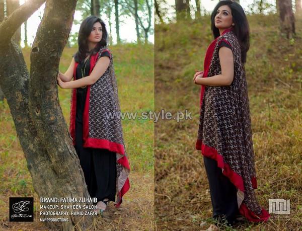 Fatima Zuhaib Summer Dresses 2014 For Women 6