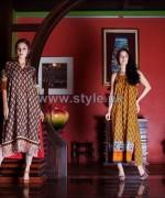 Firdous Fashion Lawn Dresses 2014 For Summer 5