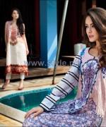 Firdous Fashion Lawn Dresses 2014 For Women 8