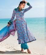 Five Star Textile Lawn Dresses 2014 Volume 3 For Women 005