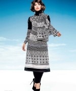 Five star Textile Black and White Dresses 2014 For Women 2
