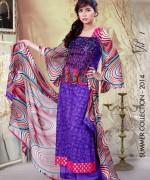 Ghani Textile Lawn Dresses 2014 Volume 1 For Women 001