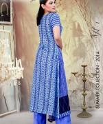 Ghani Textile Lawn Dresses 2014 Volume 1 For Women 0012