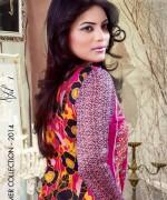 Ghani Textile Lawn Dresses 2014 Volume 1 For Women 0013
