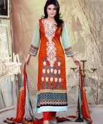 Ghani Textile Lawn Dresses 2014 Volume 1 For Women 0014