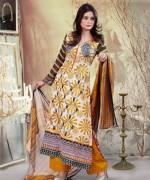 Ghani Textile Lawn Dresses 2014 Volume 1 For Women 0016