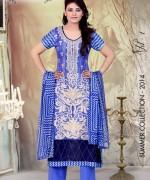 Ghani Textile Lawn Dresses 2014 Volume 1 For Women 002