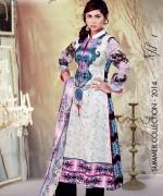 Ghani Textile Lawn Dresses 2014 Volume 1 For Women 003