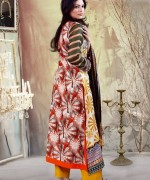 Ghani Textile Lawn Dresses 2014 Volume 1 For Women 004