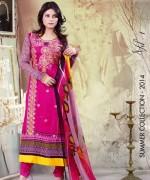 Ghani Textile Lawn Dresses 2014 Volume 1 For Women 005