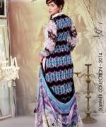 Ghani Textile Lawn Dresses 2014 Volume 1 For Women 006