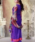 Ghani Textile Lawn Dresses 2014 Volume 1 For Women 007