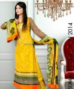 Ghani Textile Summer Dresses 2014 For Women 3