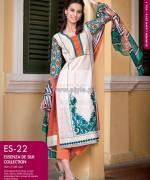 Gul Ahmed Essenza De Silk Dresses 2014 For Summer 2