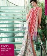Gul Ahmed Essenza De Silk Dresses 2014 For Summer 3