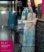 Gul Ahmed Essenza De Silk Dresses 2014 For Summer 4