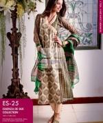 Gul Ahmed Essenza De Silk Dresses 2014 For Summer 5