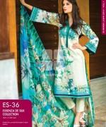 Gul Ahmed Essenza De Silk Dresses 2014 For Women 6
