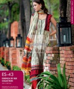 Gul Ahmed Essenza De Silk Dresses 2014 For Women 7