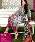 Gul Ahmed Essenza De Silk Dresses 2014 For Women 8