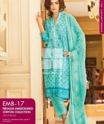 Gul Ahmed Premium Embroidered Lawn Dresses 2014 For Women 001