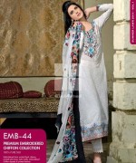 Gul Ahmed Premium Embroidered Lawn Dresses 2014 For Women 0010