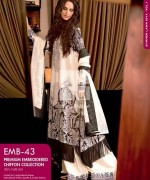 Gul Ahmed Premium Embroidered Lawn Dresses 2014 For Women 0011