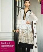 Gul Ahmed Premium Embroidered Lawn Dresses 2014 For Women 0014
