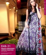 Gul Ahmed Premium Embroidered Lawn Dresses 2014 For Women 002