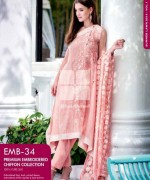 Gul Ahmed Premium Embroidered Lawn Dresses 2014 For Women 004