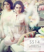 Hina Mirza Summer Dresses 2014 For Girls and Babies 1