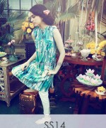 Hina Mirza Summer Dresses 2014 For Girls and Babies 3