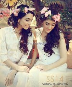 Hina Mirza Summer Dresses 2014 For Girls and Kids 7