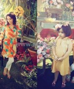 Hina Mirza Summer Dresses 2014 For Girls and Kids 9