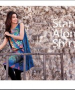 Ittehad Textiles Printed Lawn Shirts 2014 For Women 0010