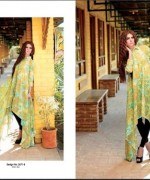 Ittehad Textiles Printed Lawn Shirts 2014 For Women 0013