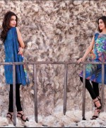 Ittehad Textiles Printed Lawn Shirts 2014 For Women 003