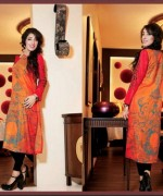 Ittehad Textiles Printed Lawn Shirts 2014 For Women 004