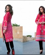 Ittehad Textiles Printed Lawn Shirts 2014 For Women 005
