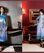 Ittehad Textiles Printed Lawn Shirts 2014 For Women 006